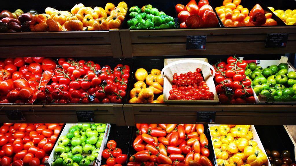 vegetable shops