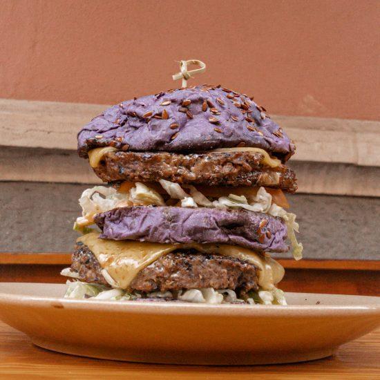 Big poppa vegan burger