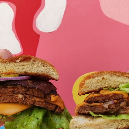 vegan burger veganjunkies